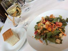 平日限定ランチ 前菜とワイン