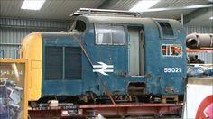 DELTICS At the DPS Depot Barrow Hill 1.9.12 LOCO TV UK..feb16.