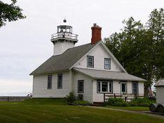 Old Mission Lighthouse, Michigan, via Flickr.