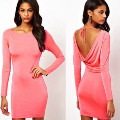 #party  #womenfashion #popular #backless #new Lace Silk, Slim Fit Dresses, Style Snaps, Hot Outfits, Love Her Style, Outfit Goals, All About Fashion, Online Shopping Clothes, Skirt Fashion