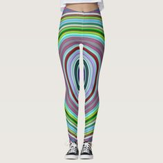 Vibrant & Eyecatching Multicolored Curves Pattern