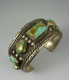 turquoise and silver cuff bracelet Turquoise Jewelry, Silver Jewelry, Vintage Jewelry, Silver Cuff, Turquoise Cuff, Vintage Turquoise, Indian Jewelry, Ethnic Jewelry, Southwest Jewelry