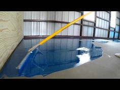 Epoxy floor materials are connected with layers of intense, durable covering called epoxy. However, not each garage floor is appropriate. Continue on to discover all about epoxy today. Epoxy Floor Diy, Epoxy Floor Basement, Metallic Epoxy Floor, Diy Epoxy, Garage Floor Epoxy, Stained Concrete, Concrete Floors, Floor Design, Home Design