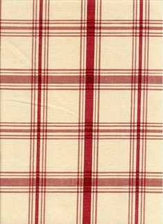 Pantry+Plaid+Crimson - This is from the Country Life collection. It might pair well with the floral pieces in that line as contrasting print. One downside of working with a plaid is you have to be careful to keep sewing parallel to the horizontal lines.