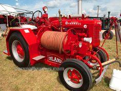 farmall super a   Farmall Super A Fire tractor