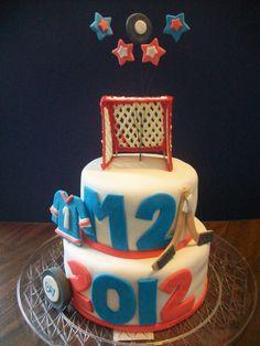 Mite Hockey Cake
