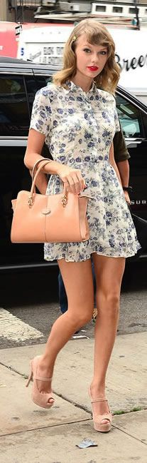 The Ultimate Guide to Stealing #TaylorSwift's Sweet-Girl Style