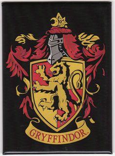 Harry Potter Gryffindor Crest Magnet