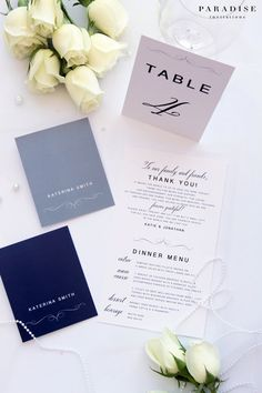 Beatrice Table Numbers