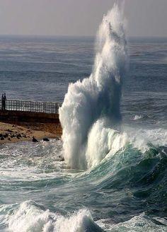 La Jolla Cove waves in San Diego