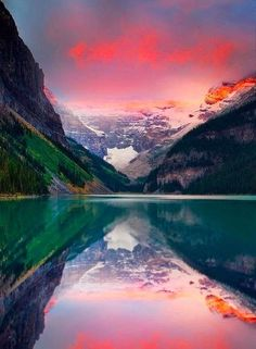 Banff National Park, Canada. 6,641 km2 mountainous landscape. As the first national park established in Canada and a coveted UNESCO World Heritage Site, what makes Banff National Park so special is its combination of vast unspoiled wilderness, mountain lakes like Lake Louise, and the gateway to it all: the Town of Banff.