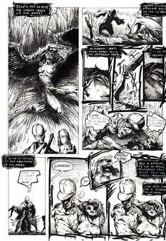 """Titolo: """"La preda"""" Pagina 3 credits@StefanoCortese"""