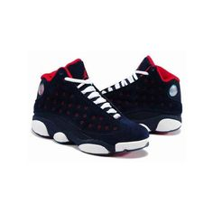 65cb2b902799 Find Nike Air Jordan 13 Womens Dark Blue Red White Shoes New online or in  Footlocker. Shop Top Brands and the latest styles Nike Air Jordan 13 Womens  Dark ...