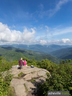 Hike the Sam Knob Trail near the Blue Ridge Parkway to stunning views of the Pisgah National Forest