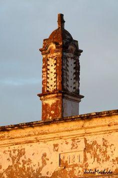 Chaminé de 1929. Algarve-Portugal