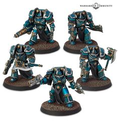 Alpha Legion Terminators Horus Heresy