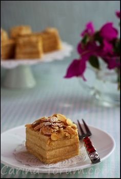 """Ellen Svinhufvud Almond Cake.This cake bears almost a hundred years history. It was named after Ellen Svinhufvud, the wife of Pehr Evind Svinhufvud, 3-rd president of Finland. In the 30-ies it was a tradition within the Presidential Palace to hold """"coffee evenings"""" for the famous finish women. This cake was an absolute must to be served."""