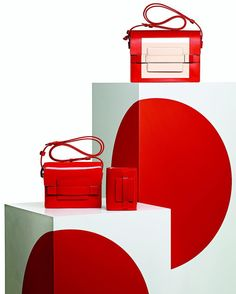 """DOVER STREET MARKET GINZA, Tokyo, Japan, """"The new collections from Delvaux"""", pinned by Ton van der Veer"""