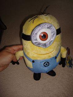 soft toy plush despicable me minion - disney... @Lauren Raffelock: you have him!!