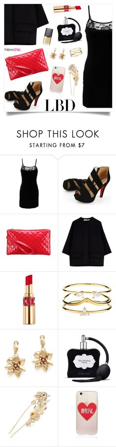 """NewChic Style125"" by nastenkakot ❤ liked on Polyvore featuring Marni, Yves Saint Laurent, Accessorize, Oscar de la Renta, Victoria's Secret, Tasha, Sonix and NARS Cosmetics"