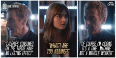 TARDIS actually does not stand for Time and Relative Diet in Space. Unfortunately.