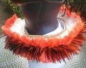 Tahitian Dance Costume Feather hip belt