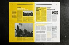 Creative Grid, Layout, Gridness, and Dop image ideas & inspiration on Designspiration Magazine Page Layouts, Mise En Page Magazine, Magazine Layout Design, Book Design Layout, Print Layout, Editorial Design Layouts, Newspaper Layout, Newspaper Design, Brochure Layout