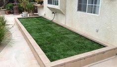 backyard dog potty area - Google Search