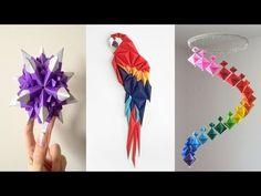 How to make a paper Slinky Keychain? (custom design) - YouTube