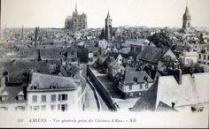 Vue générale prise du château d'eau, vers 1930 (carte postale ancienne). Credit: Maryanick Gaultier