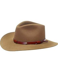 c5342638681 Product review for Stetson Men s 5X Catera Fur Felt Cowboy Hat –  Sfctra-403212 Bark – Caps   Hats for Everyone