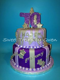 - 70th Birthday Cake.
