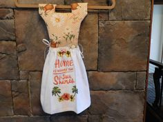 Home is Where the Sun Shines Oven Door Towel Dress by MKMtnDesigns on Etsy