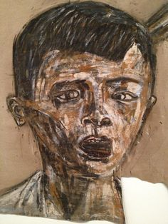 leon golub | Um menino... Vietnam II - 1973 Leon Golub Tate Modern - London
