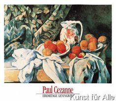 Paul Cézanne - Stilleben mit Früchten