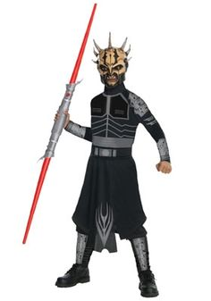 STAR WARS : Costumes and Toys : Star Wars Costume Child Savage Opress