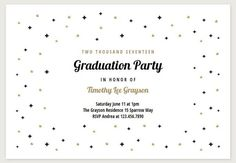Graduation Party Invitation Templates Free Printable | computer ...