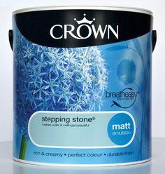 Crown Paint Stepping Stone Blue Matt