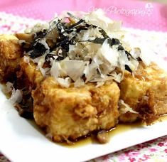 Min's Blog: 炸柴鱼豆腐 Tosaage Tofu (Fried Tofu with Bonito Flakes)...