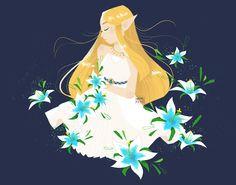 namocchi: My favorite Zelda, from Botw :')
