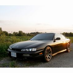 1997 Nissan 240sx (s14 Silvia)  I had forgotten how much I liked this car. Its beautiful clean lines in an understated package. I want one.
