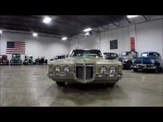 1969 Pontiac Grand Prix Gold - YouTube #GRAutoGallery