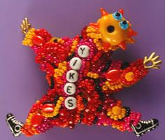 Image result for beaded dolls
