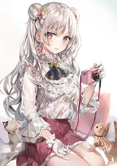 Especially cute anime girls and boys being cute. Content from anime, manga,. Kawaii Anime Girl, Cool Anime Girl, Pretty Anime Girl, Girls Anime, Beautiful Anime Girl, Cute Manga Girl, Anime Chibi, Chica Anime Manga, Thicc Anime