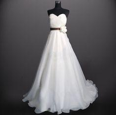 Custom Tulle Flower Wedding dress S170 by Susiewear on Etsy, $199.00 -- Pretty perfect.