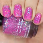 "The beautiful @kbshimmer ""Pink-a Colada""!  #KBShimmer"