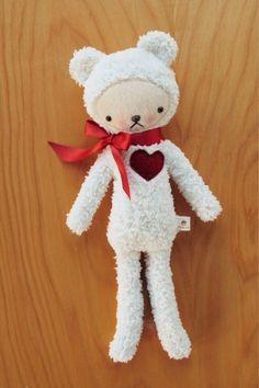 Big heart bear. bijoukitty.