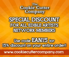 Cookie Decorating, Decorating Tips, Custom Cookie Cutters, Discount Codes, Sugar Art, Decorated Cookies, Free Food, Coding, Artists