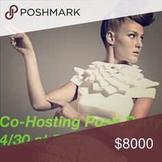 Join me as I co-host!!! Co-hosting my 2nd posh party 4/30 at 7pst. Join me ladies!!! I'm looking for Host pics from posh compliant closets. Please like and share🎀 Theme TBA🎀 Accessories