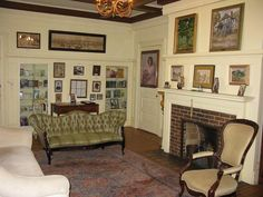 Interior view of the Scott and Zelda Fitzgerald museum in Montgomery Al.  This is the last house that the Fitzgerald's lived in as a family.  In Feb. 1932 Zelda left to receive treatment at a mental institution.  Scott left a few months later for Hollywood.